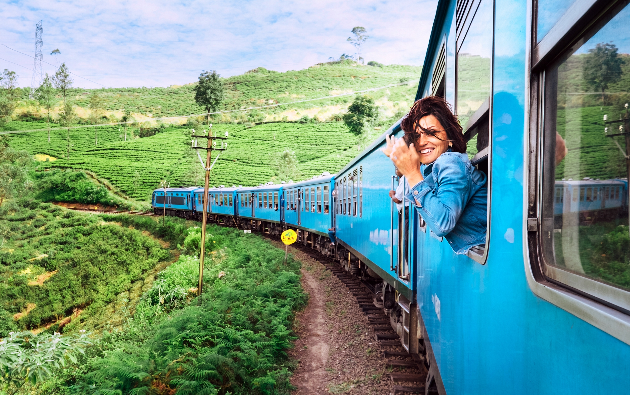 Пристигане с влак
